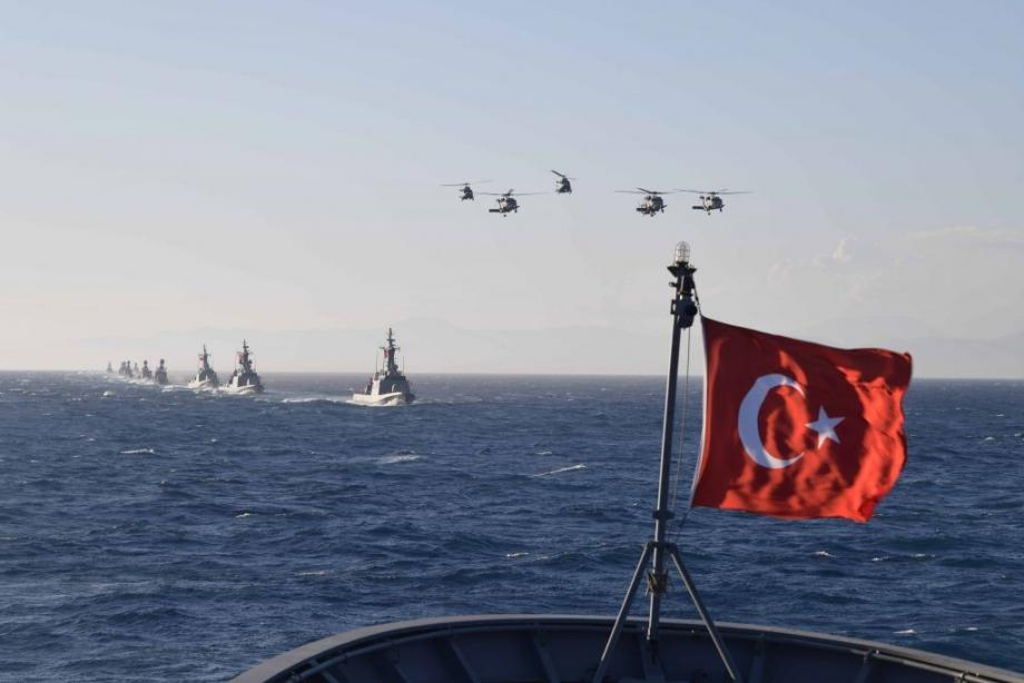 تركيا ومصر تمتلكان أطول خط ساحلي على البحر المتوسط