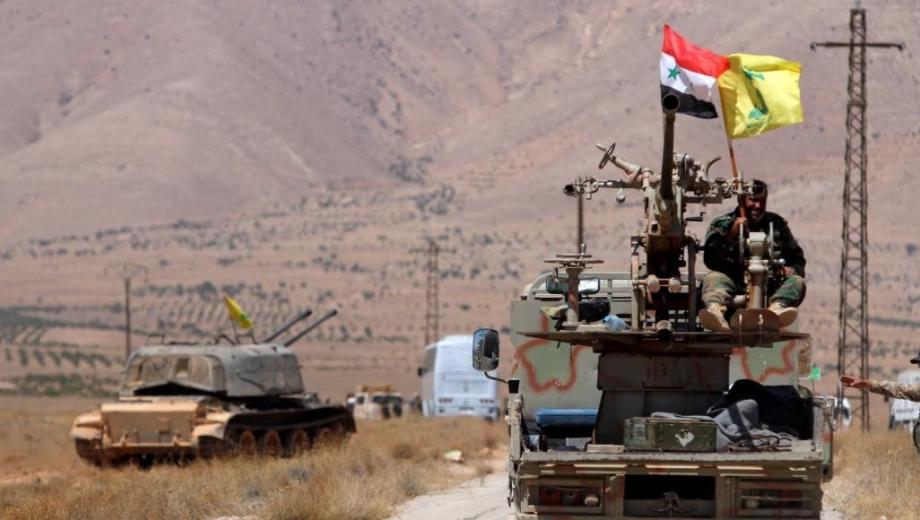 ميليشيات حزب الله في درعا