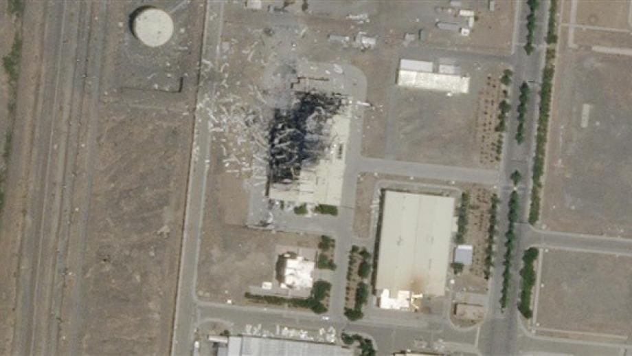 حادث في شبكة الكهرباء بمنشأة نطنز النووية