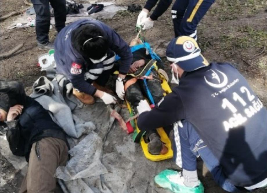 """تم العثور على اللاجئين في جزيرة صغيرة على نهر """"ميريتش"""""""
