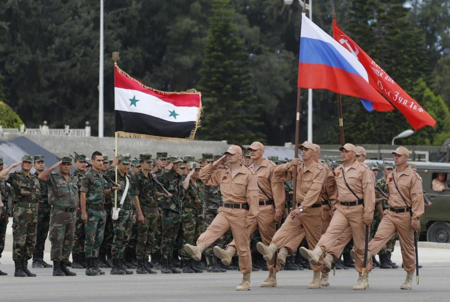 ميليشيا الأسد والميليشيات الروسية