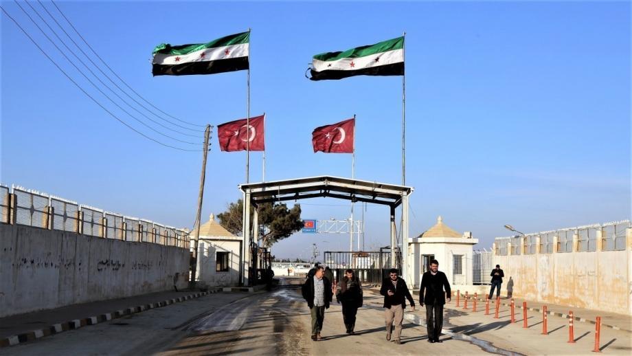 معبر باب الهوى على الحدود السورية التركية