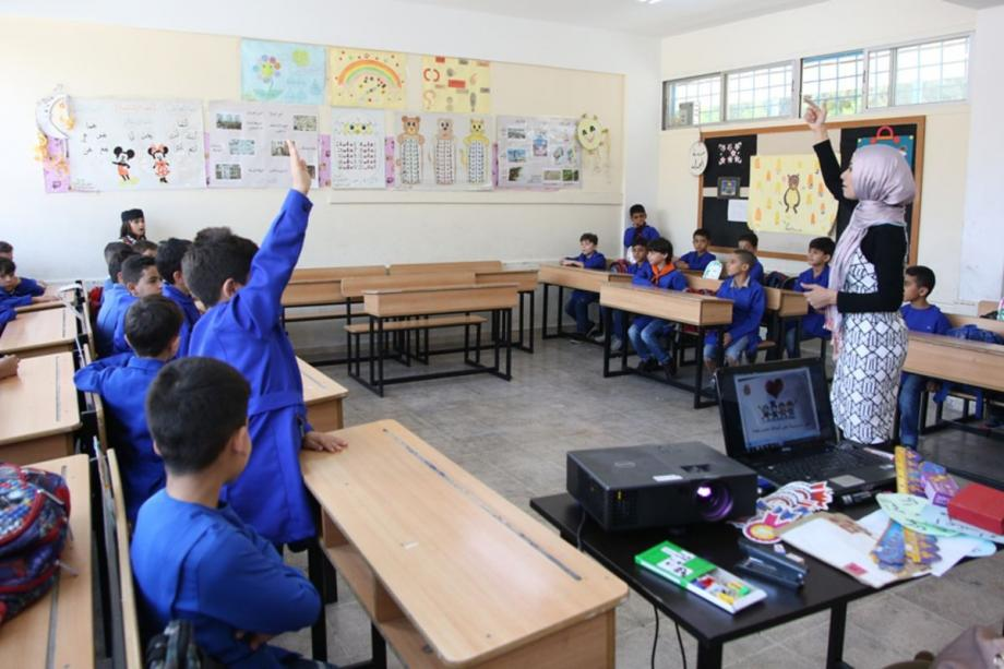 إحدى المدارس في سوريا
