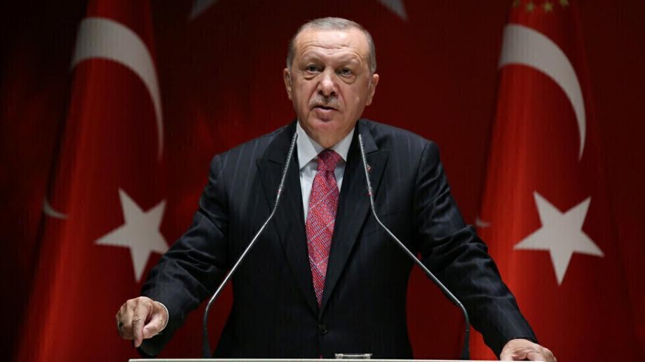 """الرئيس التركي على أن بلاده ستواصل التأكيد على مقولة """"العالم أكبر من خمسة"""""""