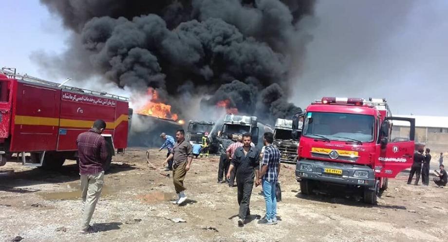 الأراضي الإيرانية قد شهدت مؤخراً سلسلة تفجيرات طالت مواقع حيوية