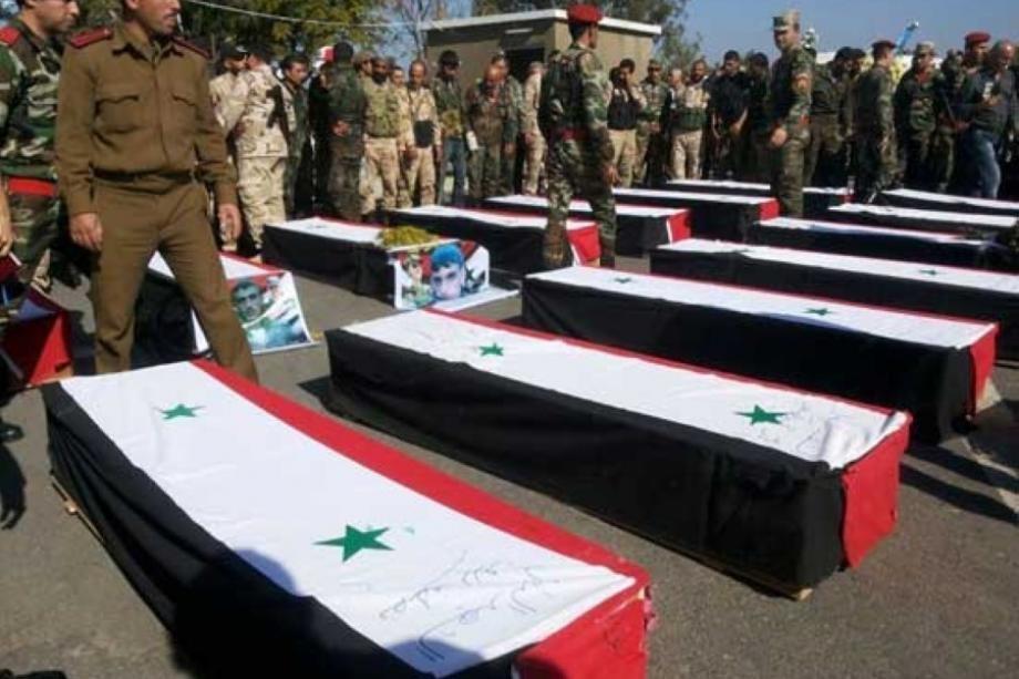 قتلى نظام الأسد
