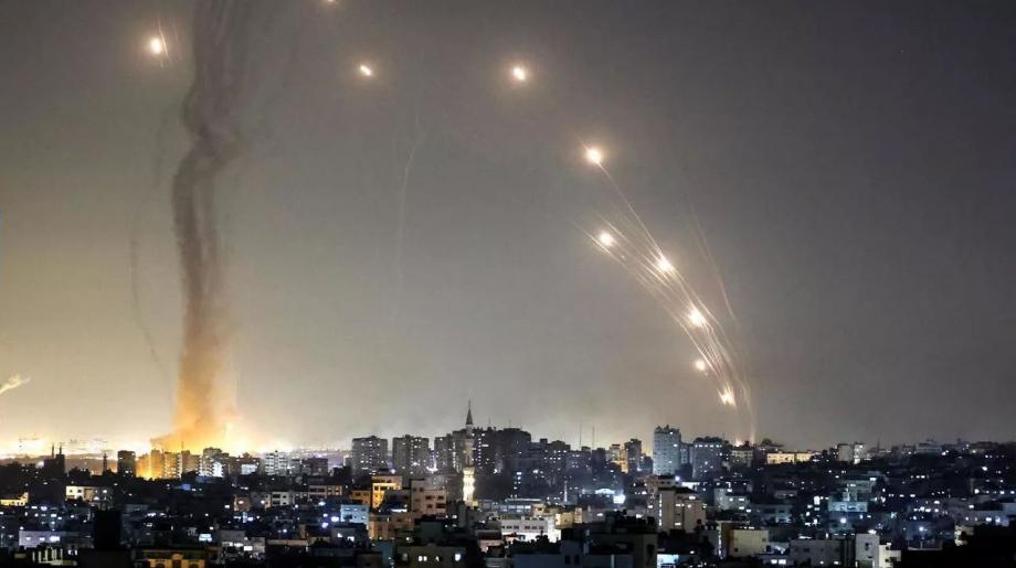 صوايخ غزة.JPG