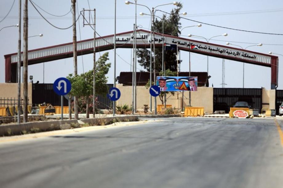"""الأردن أغلقت المعبر المذكور لمدة ثلاث سنوات، في أعقاب سيطرة """"الجيش الحر"""" عليه"""