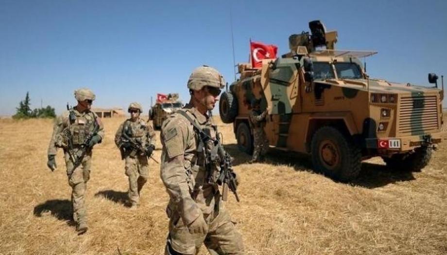 قوات تركية خلال إحدى العمليات الأمنية مؤخراً