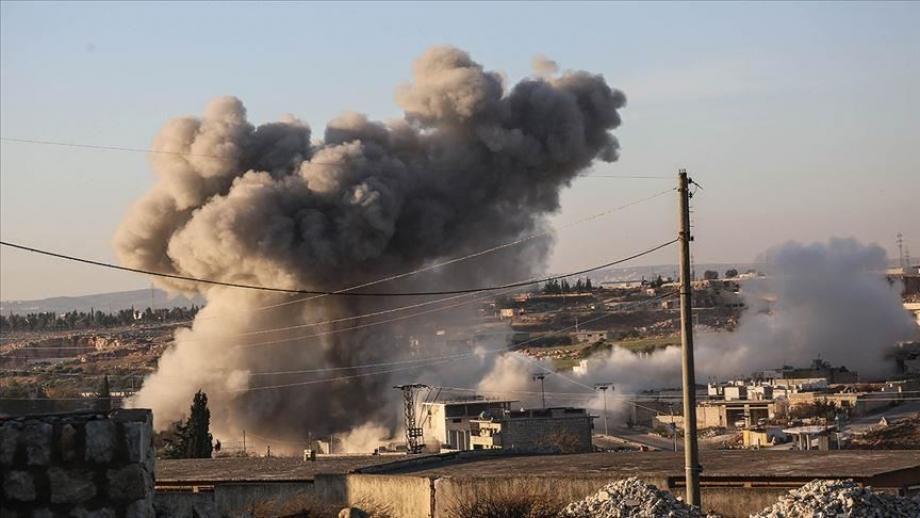 ميليشيات نظام الأسد تتعمد استهداف المناطق والأحياء السكنية في قرى وبلدات ريف إدلب