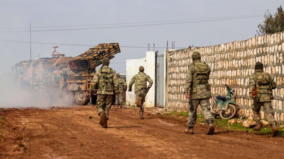 الجيش التركي في إدلب