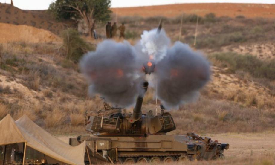 """آليات إسرائيلية أطقت عدة قذائف على مواقع تابعة لميليشيا اللواء """"90"""""""