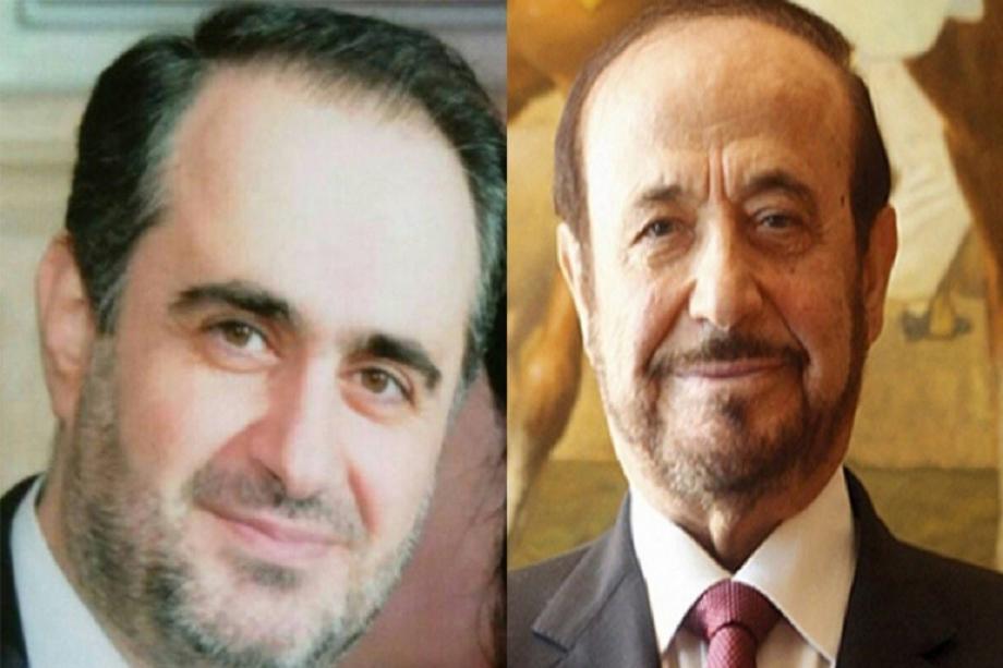 فراس وأبوه رفعت الأسد