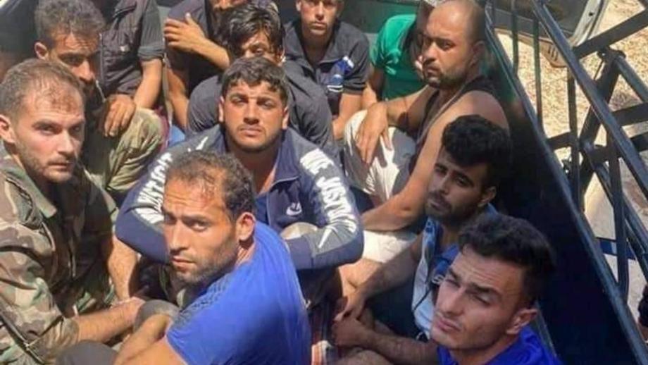 أسرى من ميليشيات الأسد بيد ثوار درعا