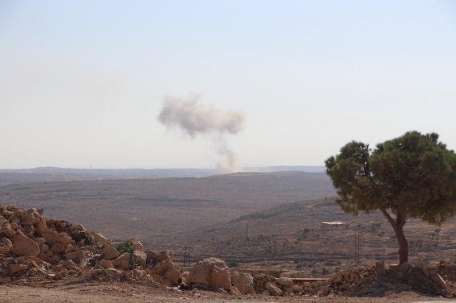 قصف روسي على محيط دارة عزة