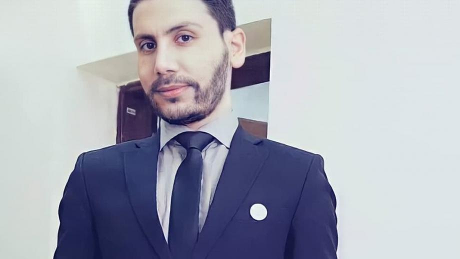 الناشط السوري عبد الرحمن النحاس