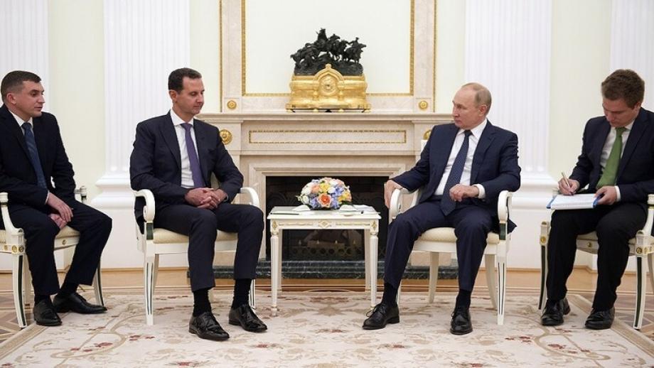 بشار الأسد في زيارة غير معلنة إلى موسكو